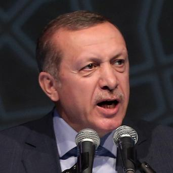 Turkey PM Recep Tayyip Erdogan says Israel has been more barbaric than Hitler in its Gaza bombardment (AP)
