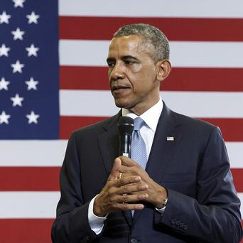 President Barack Obama hopes to ease tensions with Germany. (AP)