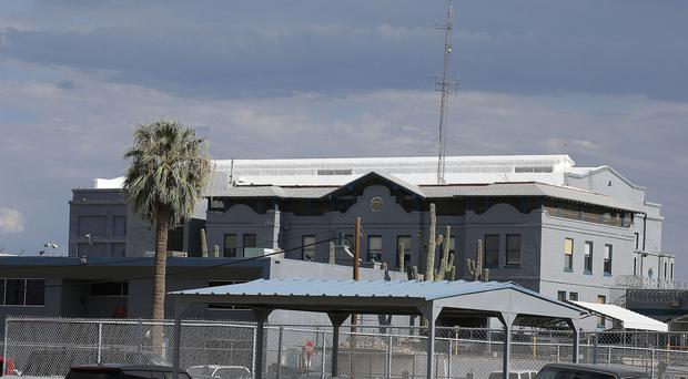 The Arizona state prison where the near two-hour execution of Joseph Rudolph Wood took place on Wednesday (AP)