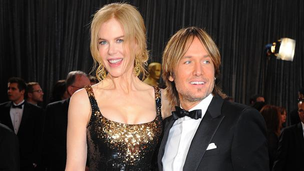 Keith Urban and wife Nicole Kidman