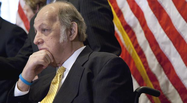 James Brady undertook a personal crusade for gun control after he was shot during the Reagan assassination attempt (AP)