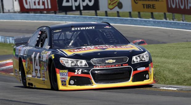 Tony Stewart's car hit and killed another driver in New York state (AP)