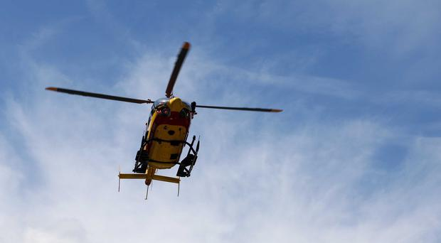 Search helicopters are looking for six climbers who went missing on Mont Blanc