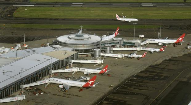 A second terror suspect has managed to leave Sydney Airport for the Middle East