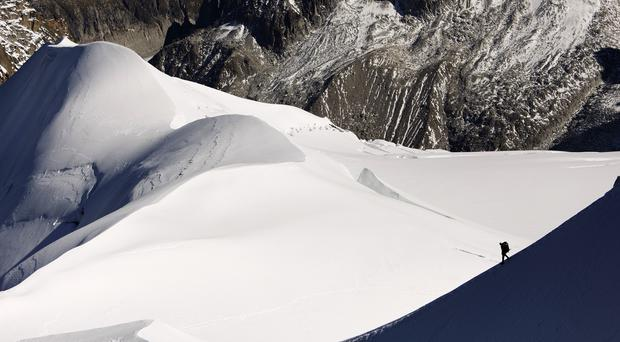 Three more climbers have been killed on Mont Blanc, Western Europe's highest mountain (AP)