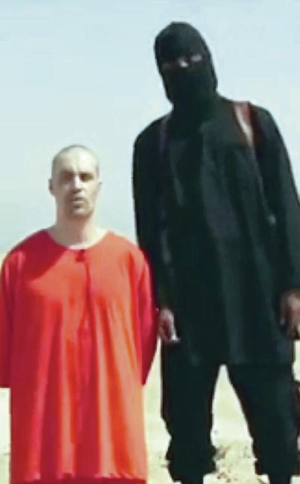 James Foley in the video of his last moments