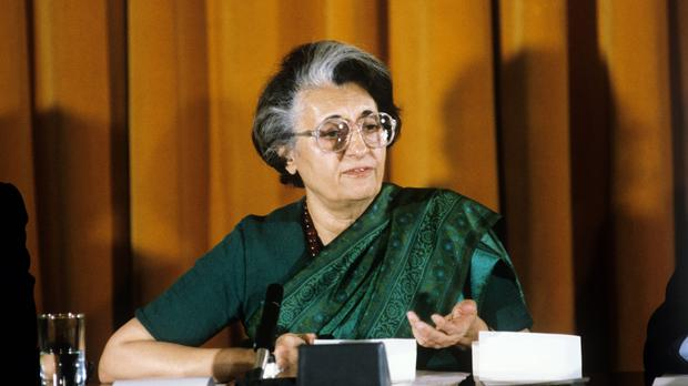 Indira Gandhi was killed by two Sikh bodyguards
