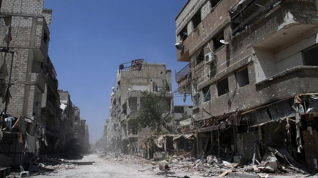 More than 191,000 people were killed between March 2011 and April 2014 in the Syrian civil war, the United Nations said (AP)