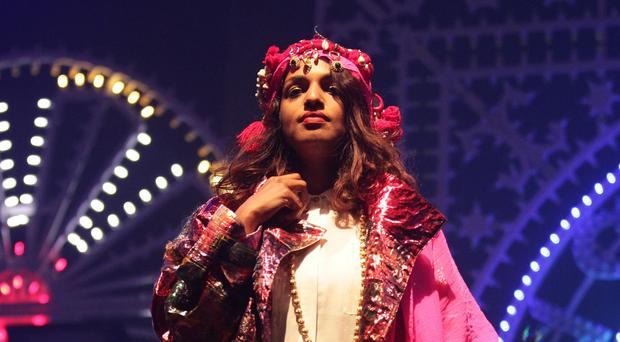 M.I.A. caused controversy when she performed a duet with Madonna at the 2012 Super Bowl