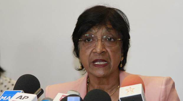 Navi Pillay says crimes against humanity have been committed in Iraq (AP)