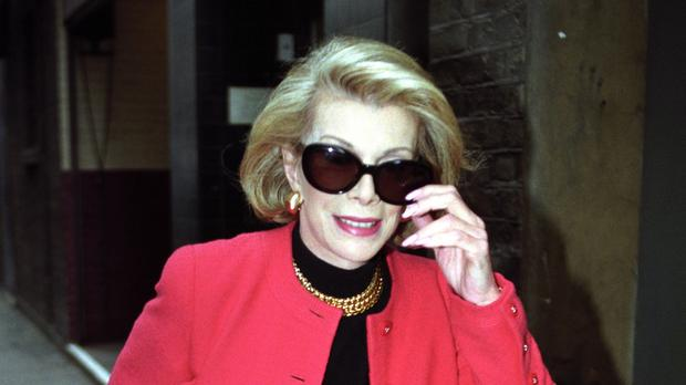 US comedian Joan Rivers is being treated in hospital