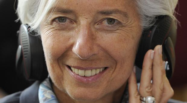 The IMF says it has confidence in its managing director Christine Lagarde, who is facing questions in France amid a corruption probe