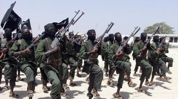 Al-Shabaab are suspected to be responsible (file picture)