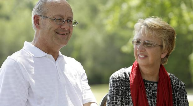 David and Nancy Writebol talk about their experiences helping people in Liberia where Nancy contracted the Ebola virus (AP)