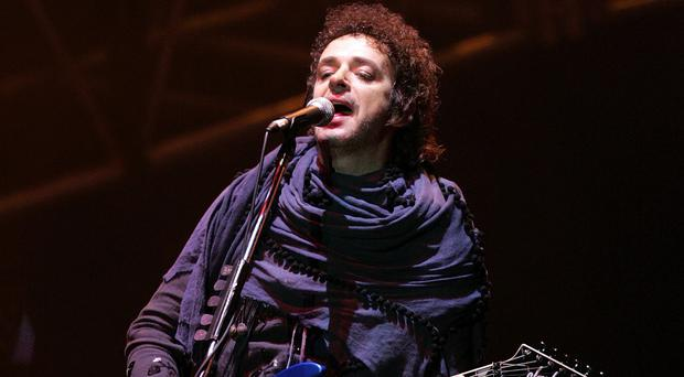 Gustavo Cerati, leader of Argentine rock band Soda Stereo, has died at the age of 55, according to the singer's family (AP)