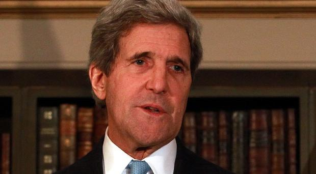 US secretary of state John Kerry is working on a global coalition against the Islamic State
