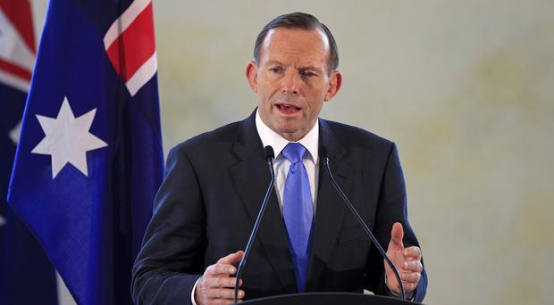 Australian prime minister Tony Abbott announced the deployment of planes to help the campaign against IS in the Middle East
