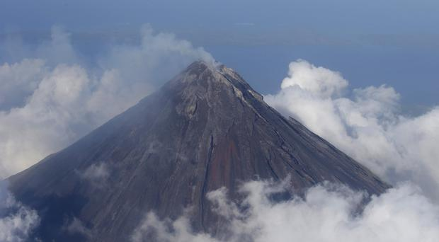 The Mayon volcano is one of the Philippines' most active volcanoes (AP)