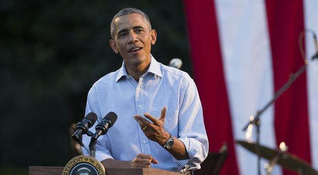 President Barack Obama said the vote shows there is support for his strategy to confront Islamic State extremists
