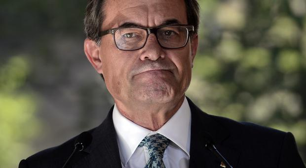 Catalonia's president Artur Mas wants an independence vote for his region. (AP)