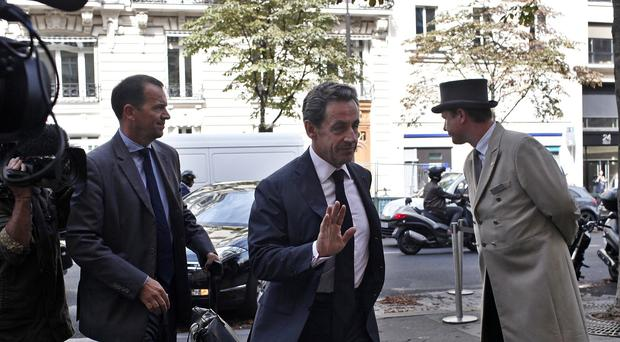 Nicolas Sarkozy is aiming to be French president again in 2017. (AP)