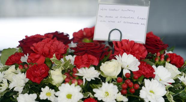 A floral tribute for victims of MH17