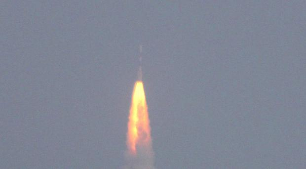 India could become the first nation to conduct a successful Mars mission on its first attempt (AP)