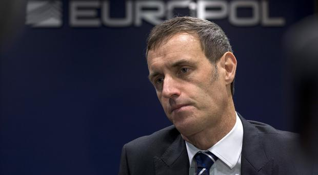 Europol director Rob Wainwright said that Operation Archimedes targeted almost all kinds of crime (AP)
