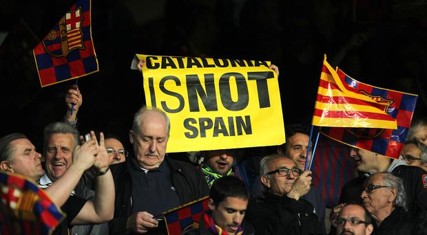 The region of Catalonia wants independence from Spain
