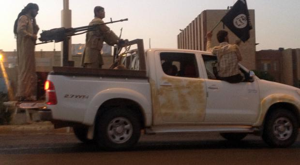 Islamic State fighters have reportedly committed another massacre (AP, file)