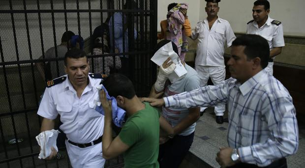 Egyptian men convicted for