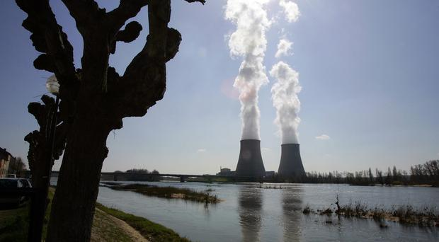 The Belleville-sur-Loire nuclear plan in central France (AP).