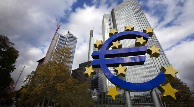 The European Central Bank said it has already lowered the benchmark refinancing rate about as low as it can go