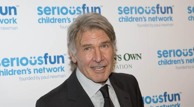 Harrison Ford broke his leg during filming on the new Star Wars movie, which is to be called The Force Awakens