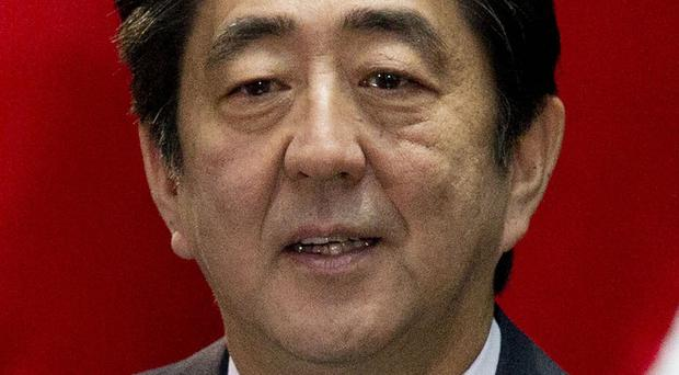 Japanese PM Shinzo Abe is expected to hold talks with Chinese president Xi Jinping. (AP)