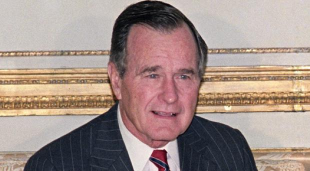 Former US president George Bush senior considered not running for a second term, according to his son George W Bush