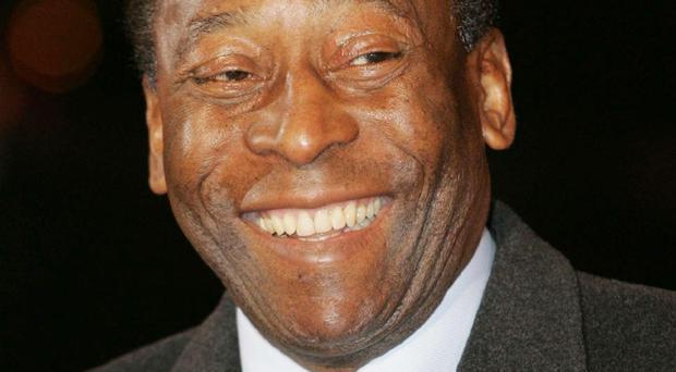 Pele has been treated in hospital with reported stomach pains