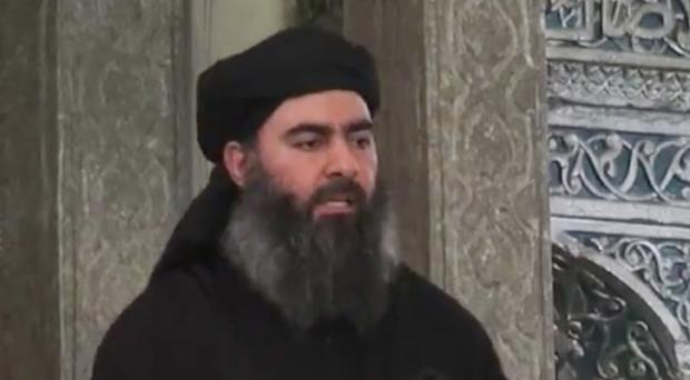 The audio recording from Abu Bakr al-Baghdadi is thought to be authentic. (AP)
