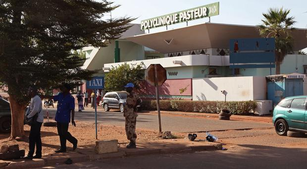 Malnutrition rates in Mali are comparable to the crises in South Sudan and the Horn of Africa, the UN says. (AP)