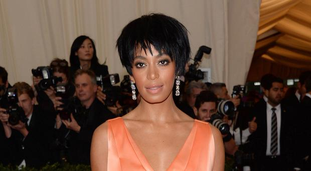 Singer Solange Knowles, sister of Beyonce, has wed video director Alan Ferguson (Photo by Evan Agostini/Invision/AP, File)