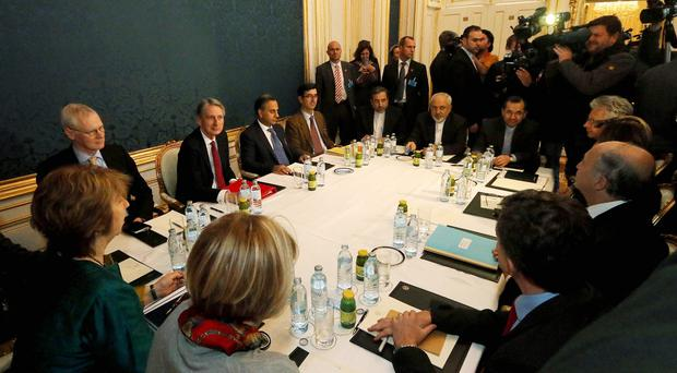 Talks on Iran's nuclear programme have taken place in Vienna (AP)