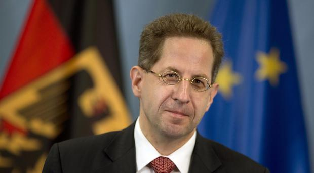 Hans-Georg Maassen said that as many as 60 of the suspected extremists has been killed abroad (AP)