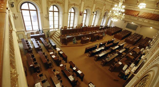 It is the second such incident involving suspicious mail sent to Czech ministers (AP)