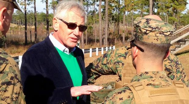 US defence secretary Chuck Hagel is to leave the Obama administration, sources have revealed (AP)