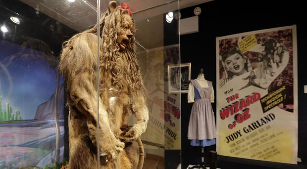 Bert Lahr's Cowardly Lion costume from The Wizard of Oz (AP)