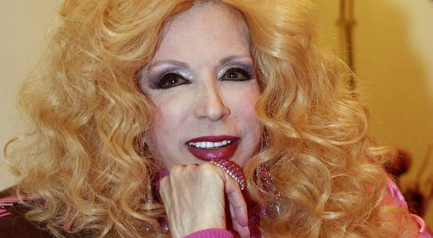 Lebanese singer Sabah, who has died at the age of 87 (AP)