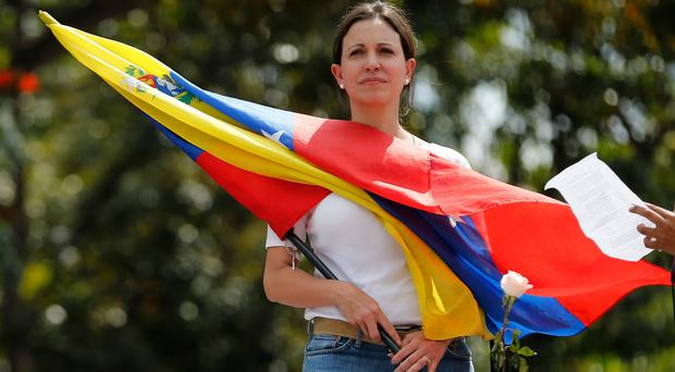 Maria Corina Machado has been ordered to appear in court on December 3 to face charges (AP)