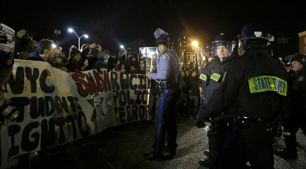The shooting of unarmed teenager Michael Brown sparked protests across the US