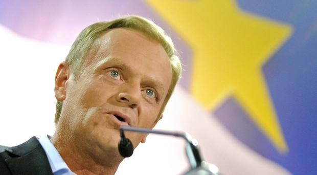 Donald Tusk has taken over the EU presidency. (AP)