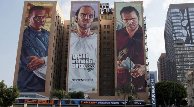Australian Target stores are removing Grand Theft Auto V games from their shelves (AP)